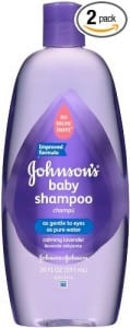 1. Johnson's Baby Shampoo Calming Lavender 20 Ounce