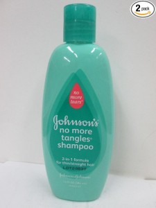 10.x Johnson's Baby Shampoo No More Tangles Shampoo