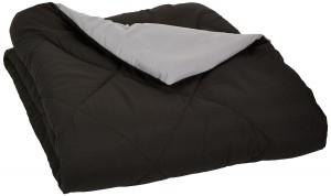 2. AmazonBasics Reversible Microfiber Comforter