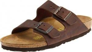 2. Birkenstock Unisex Arizona Soft Footbed Sandals