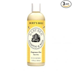 2. Burt's Bees Baby Bee Fragrance Free Shampoo & Wash, 12 Fluid Ounce