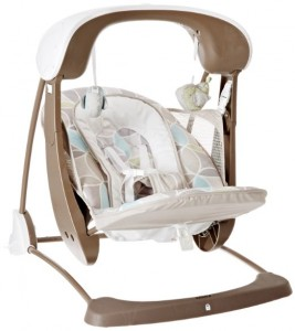 2. Fisher Price Deluxe Take Along Swing and Seat