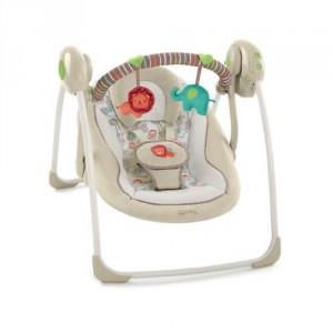 4. Comfort & Harmony Cozy Kingdom Portable Baby Swing