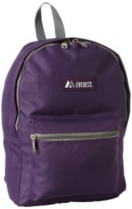 5. Everest Luggage Basic Backpack