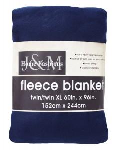 8. J & M Home Fashions 60-Inch by 96-Inch Fleece Blanket