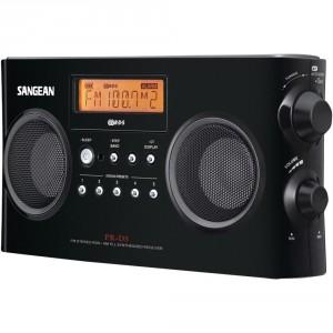 1.Sangean PR-D5BK AM:FM Personal Radio