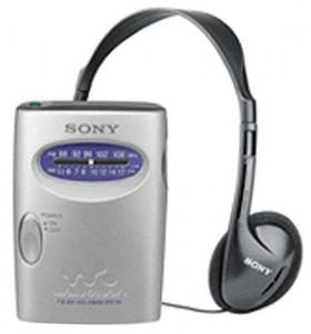 3. Sony SRF59SILVER AM:FM Walkman Personal Radio