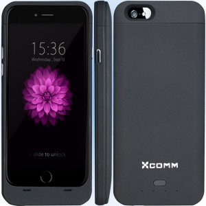 3. XCOMM IPhone 6 and 6s battery case