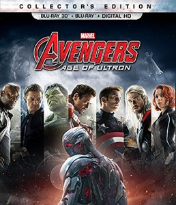 4. Marvel's Avengers - Age of Ultron DVD Movies