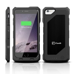 5. IPhone 6 Battery Case- MFI Certified- Doubles Battery Charge without Extra Bulk