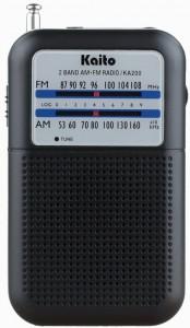 5. Kaito KA200 Pocket Personal Radio