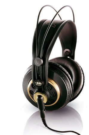 6. AKG K 240 Semi-Open Studio Headphones