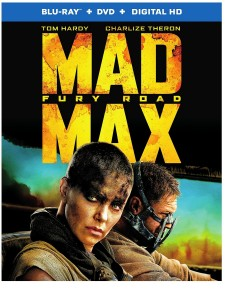 6. Mad Max - Fury Road DVD Movies