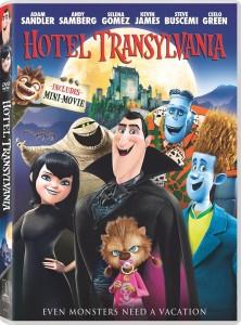 7. Hotel Transylvania DVD Movies