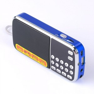 7. Mfine Portable Mini USB FM Personal Radio