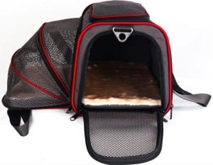 7. Petsfit Comfort Expandable Foldable Travel Dogs Carriers Pet Carrier Soft-sided