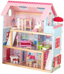 8. KidKraft Chelsea Doll Cottage with Furniture