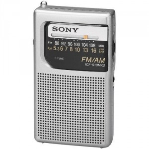 9. Sony All-In-Oone Compact Design Pocket Size Personal Radio