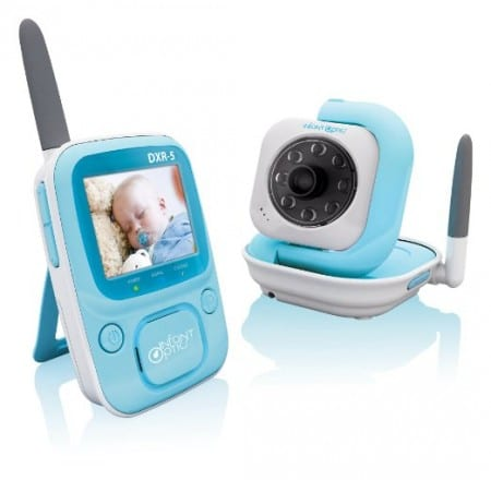 1. Infant Optics DXR-5 2.4 GHz Digital Video Baby Monitor with Night Vision