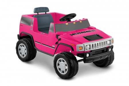 1. National Products 6V Pink Hummer H2 Battery Operated Ride-on