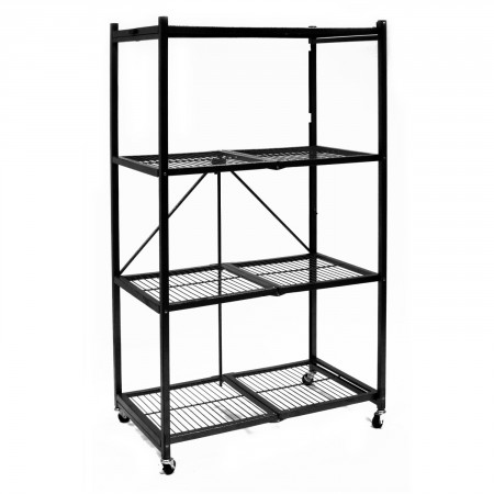 1.Origami General 4-Shelf Steel Collapsible Storage Rack