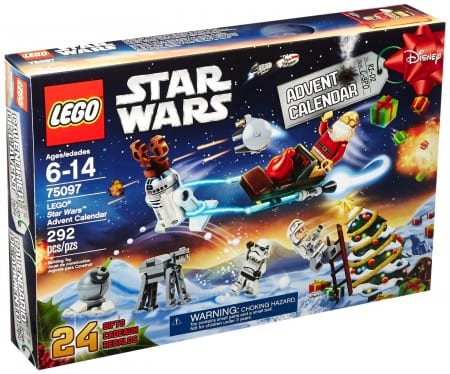 2. LEGO Star Wars 75097 Advent Calendar Building Kit