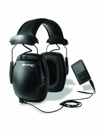 2.Howard Leight Sync Noise-Blocking Stereo Earmuff