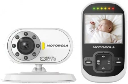 3. Motorola Wireless 2.4 GHz Video Baby Monitor