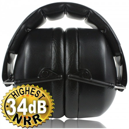 3.Clear Armor Safety Earmuffs Highest NRR