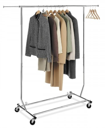 3.Collapsible Clothing Rack-Commercial Grade