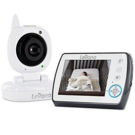 4. Levana Ayden Digital Video Baby Monitor