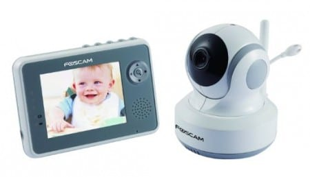 5. Foscam Wireless Digital Video Baby Monitor