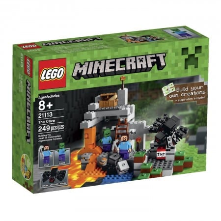 5. LEGO Minecraft The Cave 21113 Playset