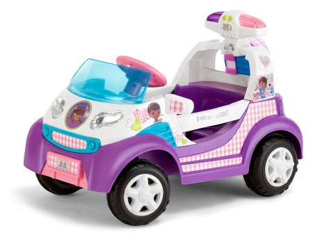 7. Kid Trax Doc McStuffins 6V Ambulance Ride On