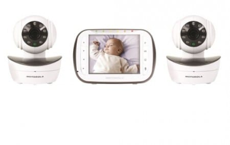 9. Motorola Digital Video Baby Monitor