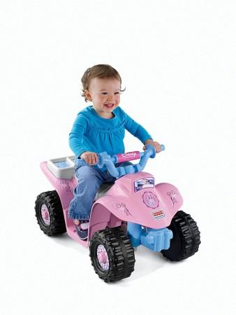 9. Power Wheels Disney Princess Lil' Quad