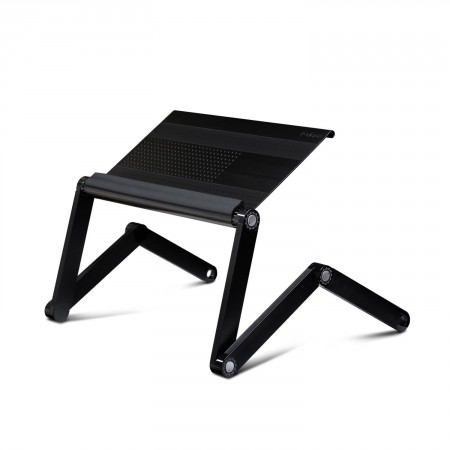 1. Furinno Adjustable Vented Laptop Table