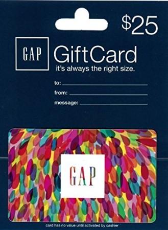10.Gap Gift Card