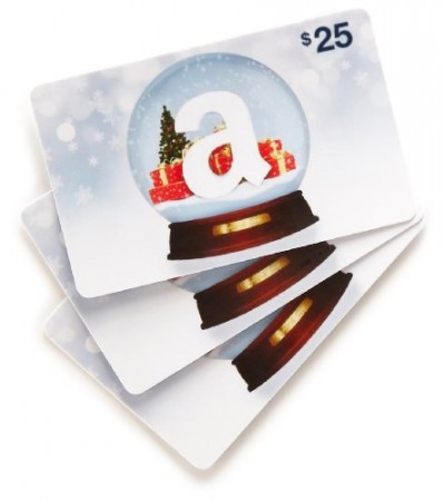 9.Amazon.com Gift Cards Pack of 3 Cards