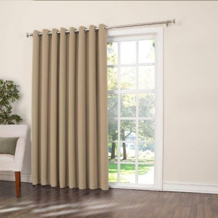 Most buy list of best sliding glass door curtains with for Where to buy drapery