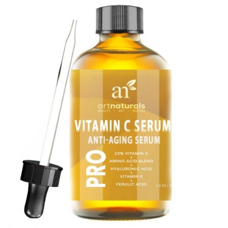 1. Vitamin C Serum with Hyaluronic Acid 1 Oz