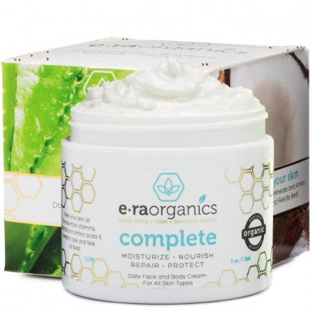 1.Era Organics Natural Face Moisturizer