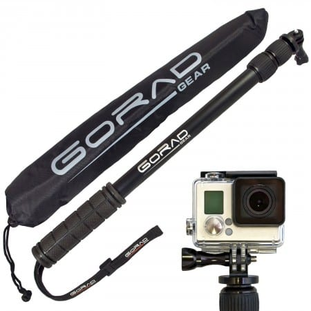 1.The Best Waterproof Selfie Stick for GoPro Review 2016