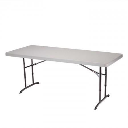 lifetime height adjustable folding utility table - Utility Table