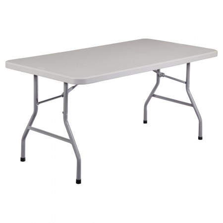 Beautiful NPS Blow Molded Plastic Top Folding Table