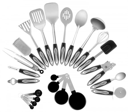 High Quality Chef Essential Classic 23 Piece Kitchen Utensil Set