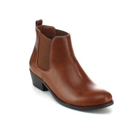 8.Refresh Women Flat Heel Ankle Booties