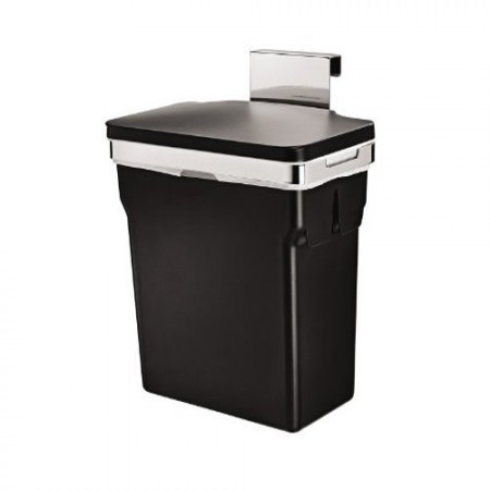 steel brim can trashcans dp with umbra stainless stylish amazon large pedal ac and com kitchen trash foot durable