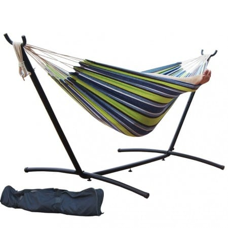 4.Top 10 Best Hammock with Space-Saving Steel Stand Review