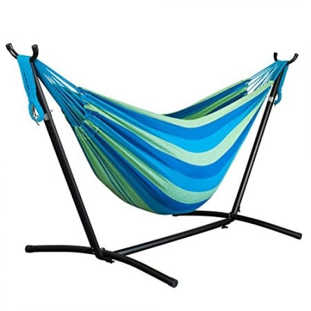 8.Top 10 Best Hammock with Space-Saving Steel Stand Review